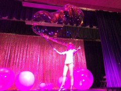 bubbles show Bubble show for kids party